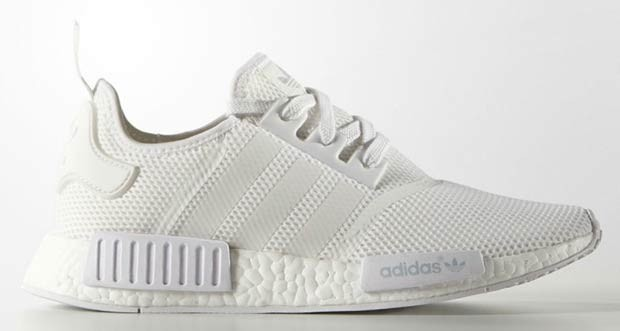 nmd homme blanche